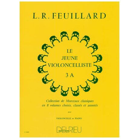 Feuillard: Le jeune violoncelliste Band 3a
