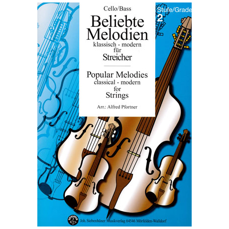 Beliebte Melodien: klassisch bis modern Band 3 – Violoncello/Kontrabass