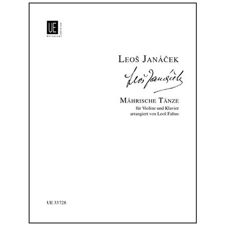 Janácek, L.: Mährische Volkstänze