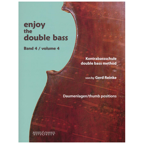 Reinke, G.: Enjoy the double bass Band 4 (+CD)