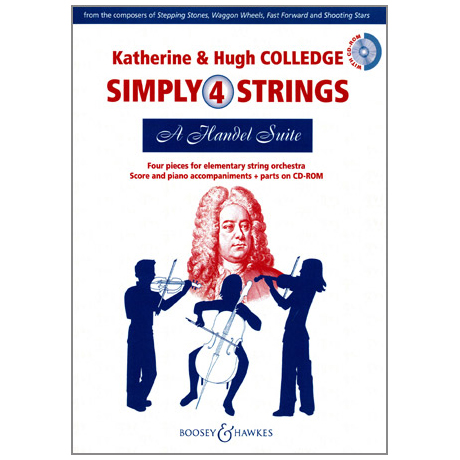 Simply4Strings - A Handel Suite (+CD-ROM)