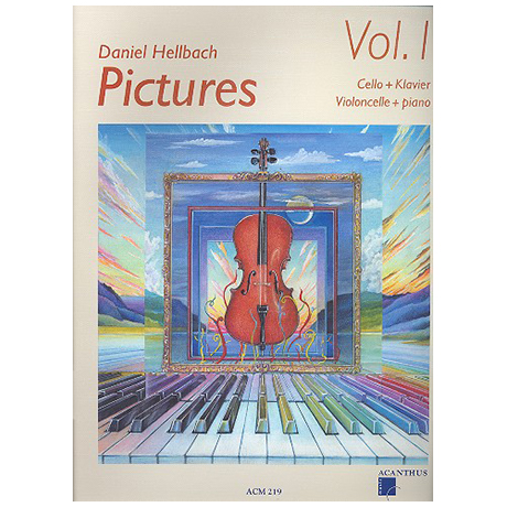 Hellbach, D: Pictures Vol.1 (+CD)