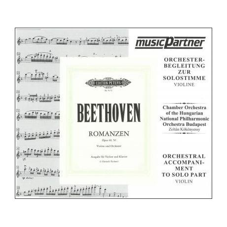 Beethoven, L. v.: 2 Romanzen Op. 40 und Op. 50 Compact-Disc CD