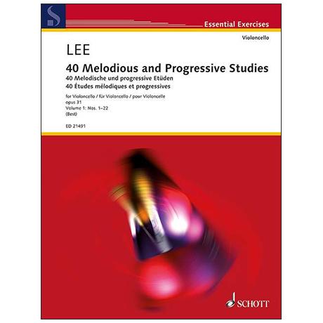 Lee, S.: 40 Melodische und Progressive Etüden Op.31 Band 1