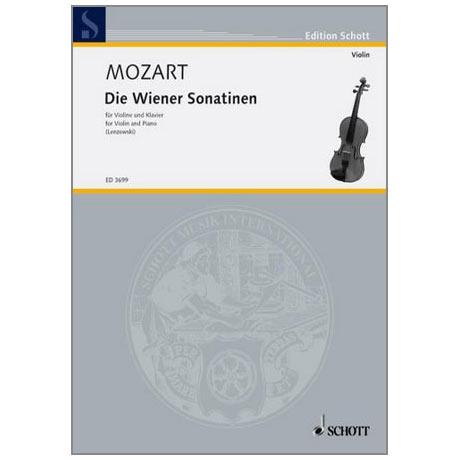 Mozart, W. A.: Die Wiener Violinsonatinen