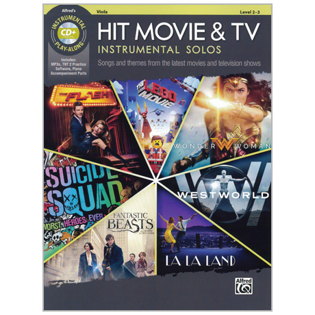 Hit Movie & TV Instrumental Solos for Viola (+CD)