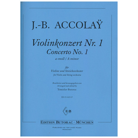 Accolay, J. B.: Konzert Nr. 1 a-Moll