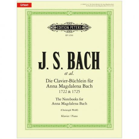 Bach, J. S.: Die Clavier-Büchlein für Anna Magdalena Bach 1722 & 1725 (Auswahl)