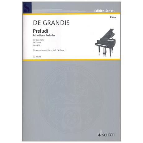 Grandis, R. de: Preludi Heft 1