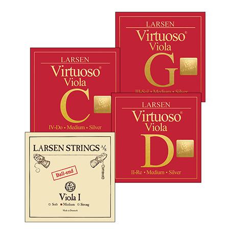 LARSEN Virtuoso Soloist Violasaiten SATZ