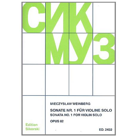 Weinberg, M: Sonate Nr. 1 Op. 85