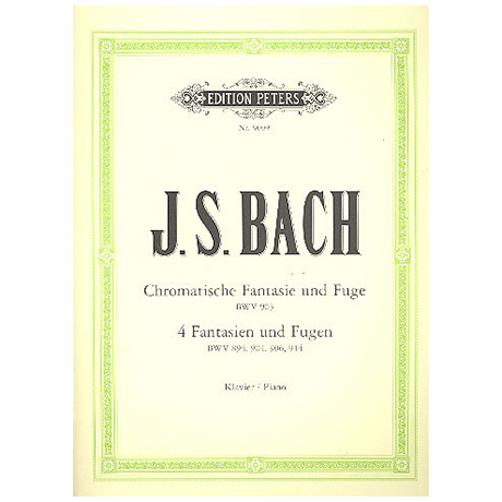 Bach, J.S.: Fantasien und Fugen