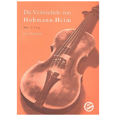 Hohmann, H./Heim, E.: Violinschule Band 5