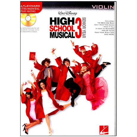 High School Musical vol.3: Violin (+CD)