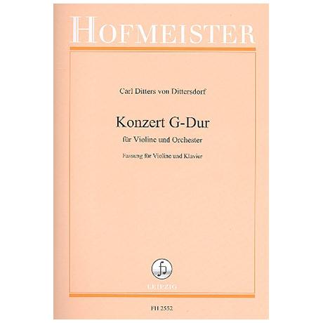 Dittersdorf, C.D.v.: Konzert G-Dur