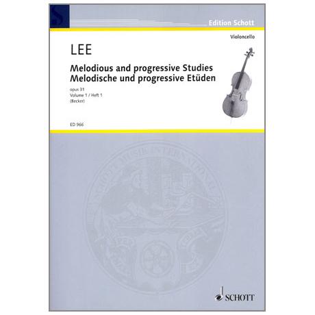 Lee, Sebastian: Melodische und Progressive Etüden op.31 Band 1