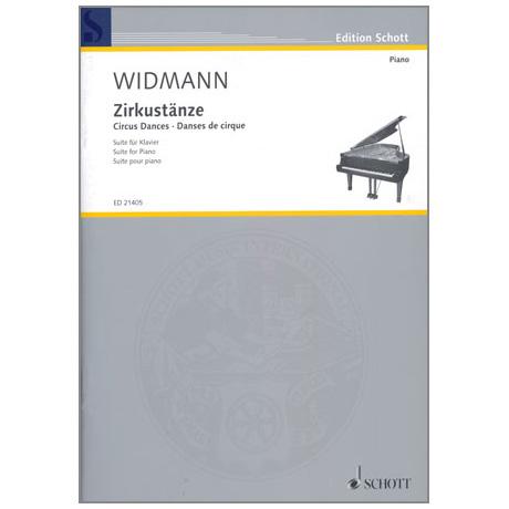 Widmann, J.: Zirkustänze Suite für Klavier