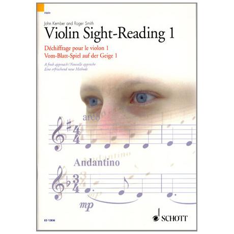 Vom-Blatt-Spiel auf der Geige 1