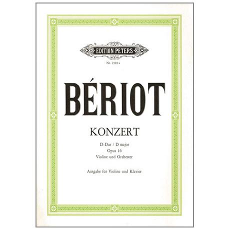 Bériot, Ch.-A. d.: Violinkonzert Nr. 1 Op. 16 D-Dur