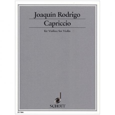 Rodrigo, J.: Capriccio (1944)