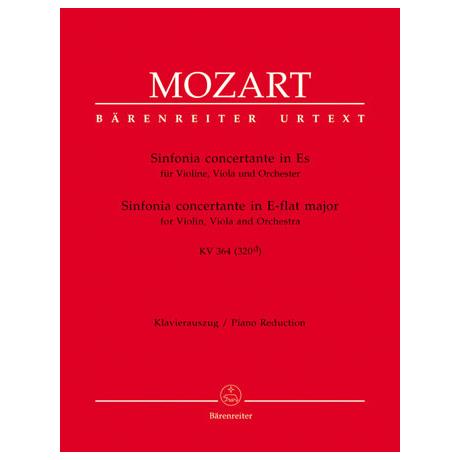 Mozart, W. A.: Sinfonia concertante KV 364 (320d) Es-Dur