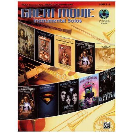 Great Movie Instrumental Solos (+CD)