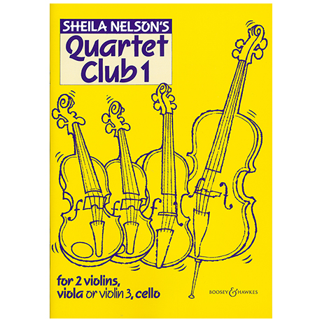 Nelson, S. M.: Quartet Club Vol. 1