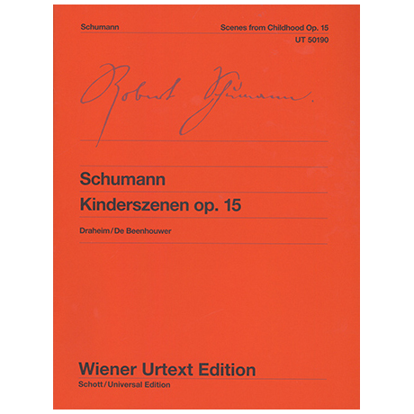 Schumann, R.: Kinderszenen Op.15
