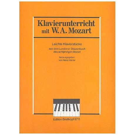 Mozart, W. A.: Leichte Klavierstücke aus dem Londoner Skizzenbuch