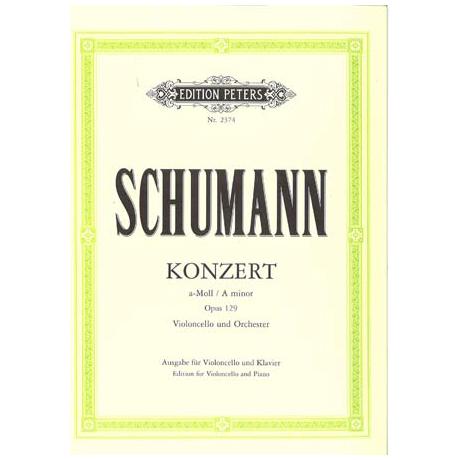 Schumann, R.: Violoncellokonzert Op. 129 a-Moll