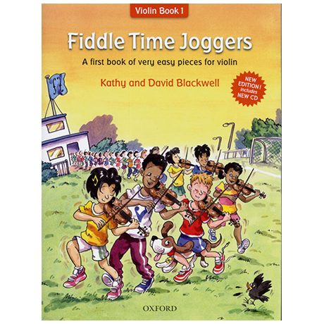 Blackwell: Fiddle Time Joggers (+CD)