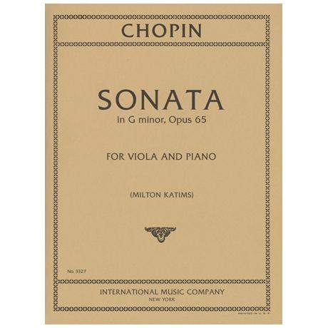 Chopin, F.: Sonate in g-moll op. 65