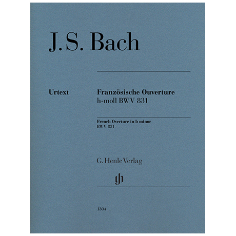 Bach, J. S.: Französische Ouverture BWV 831 h-Moll