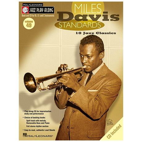 Miles Davis Standards (+CD)