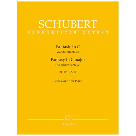 Schubert, F.: Fantasie Op. 15 C-Dur D 760 »Wandererfantasie«