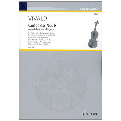 Vivaldi, A.: Violinkonzert Nr. 6