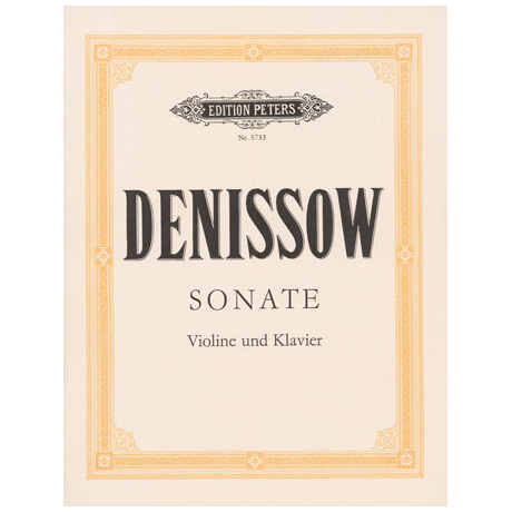 Denissow, E.: Violinsonate (1963)