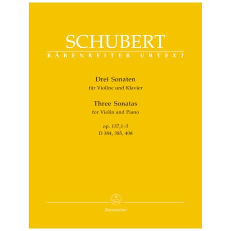 Schubert, F.: 3 Sonaten Op. 137 1-3