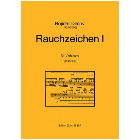 Dimov, B.: Rauchzeichen I (1990/98)