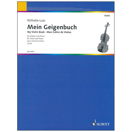 Lutz, W.: Mein Geigenbuch