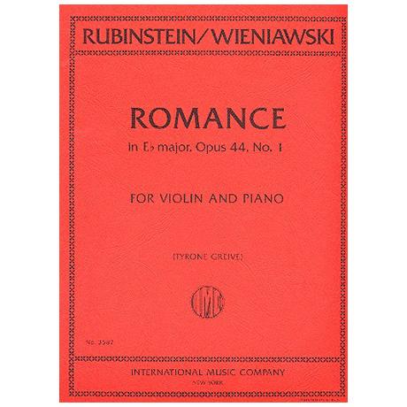 Rubinstein, A.: Romance Es-Dur Op.44/1