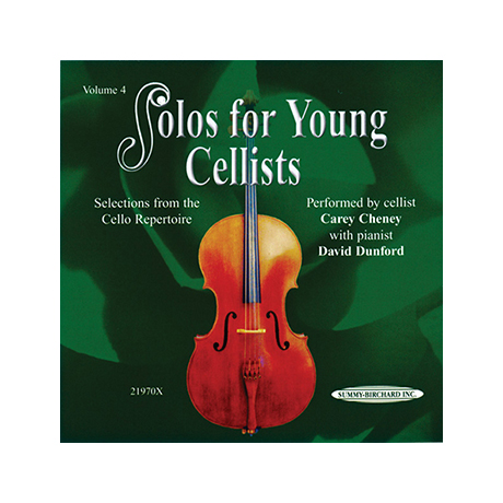 Solos for young Cellists Vol.4 (nur CD)