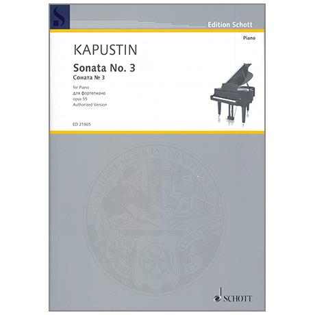 Kapustin, N.: Sonata No. 3 Op. 55