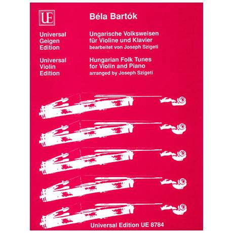 Bartók, B.: Ungarische Volksweisen