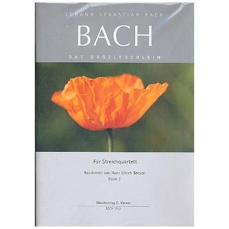 Bach, J.S.: Das Orgelbüchlein Band 2