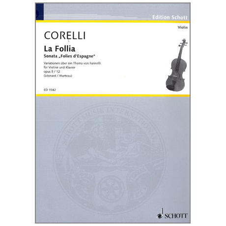 Corelli, A.: Folies d'espagne