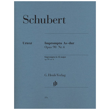 Schubert, F.: Impromptu As-Dur Op. 90,4 D 899