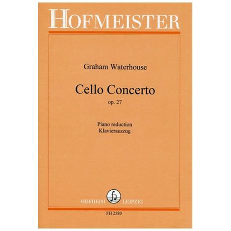 Waterhouse, G.: Cello Concerto Op. 27