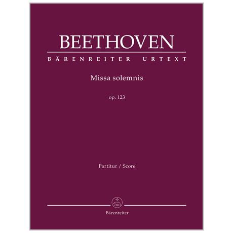 Beethoven, L. v.: Missa solemnis Op. 123