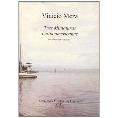 Meza, V.: Tres Miniaturas Latinoamericanas